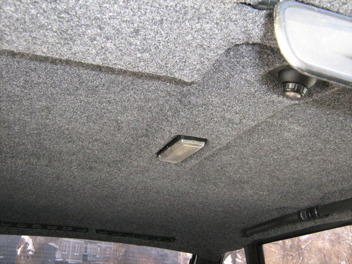 Как перетянуть потолок автомобиля своими руками